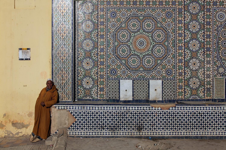 lgmenkesfountain Meknes, Morocco, 2013