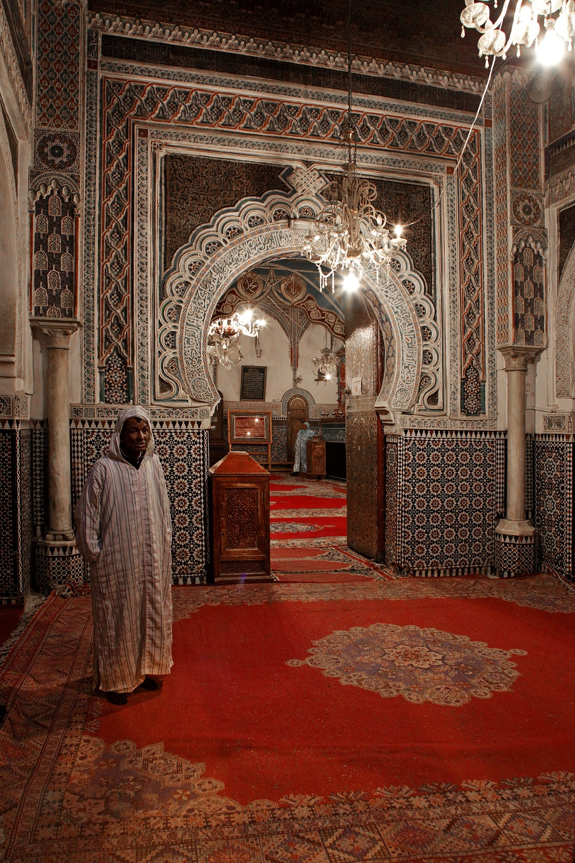 mausoleumidriss Mouley Idriss Mausoleum,  Fes el Bali, Morocco, 2013