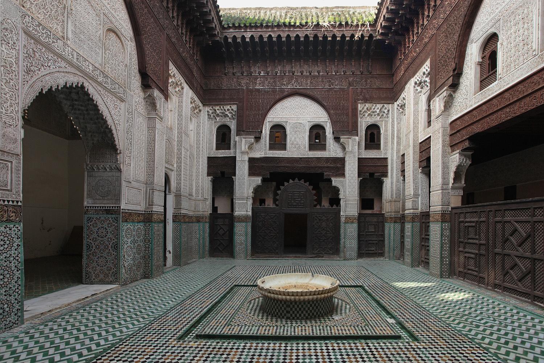 mekinania Medersa Bou  Inania,  Meknes, Morocco, 2013