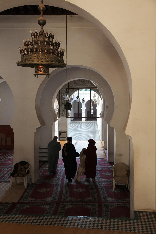mosqueportal Kairaouine Mosque,  Fes el Bali, Morocco, 2013
