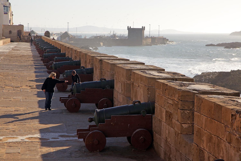 ramparts Essaouira, Morocco, 2012