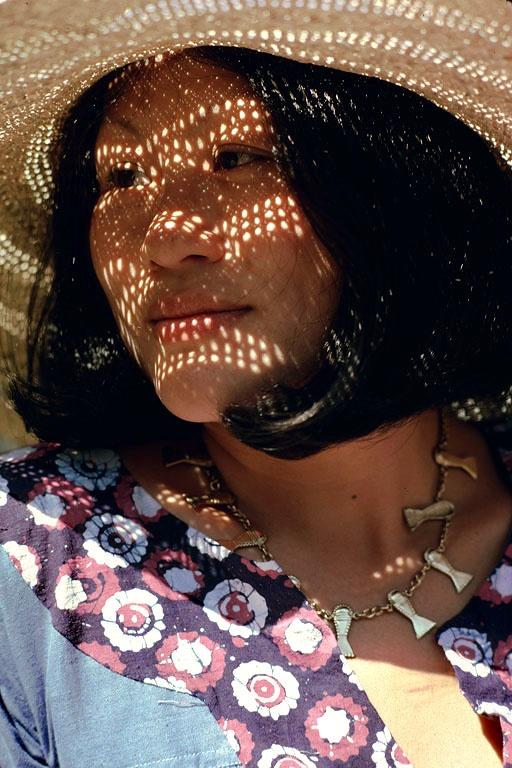 holyhat In Straw Hat, Berkeley, California, 1975