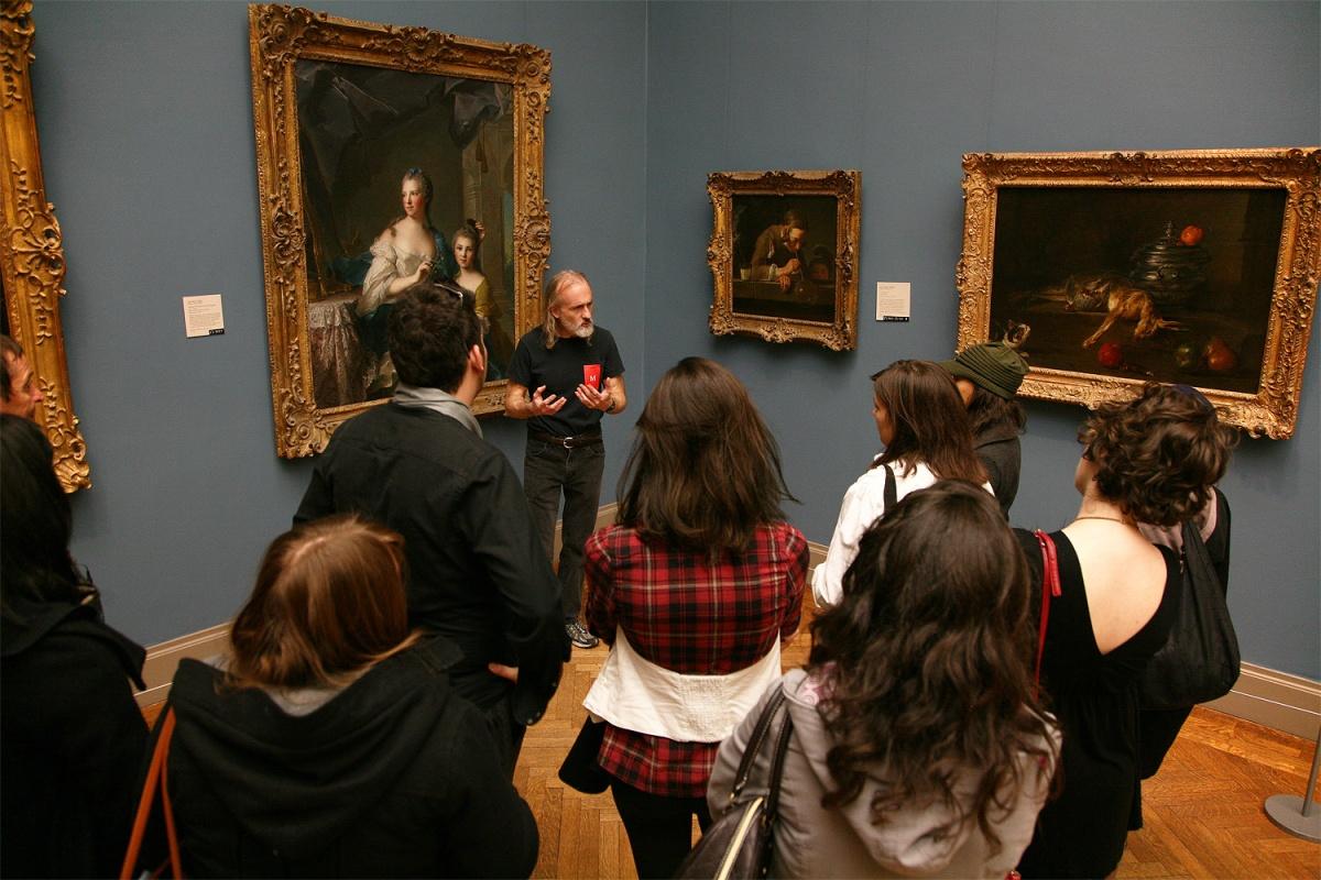 docent Metropolitan Museum,  New York, New York, 2008