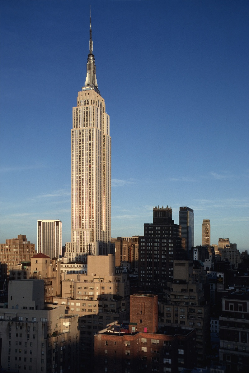 empire Empire State Building, New York, New York, 1980