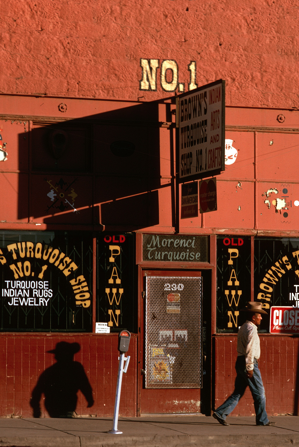 pawnshop Trading Post, Gallup, New Mexico, 1973