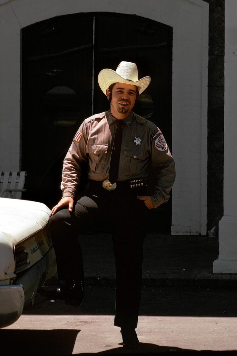 security Security Guard, Gallup, New Mexico, 1973
