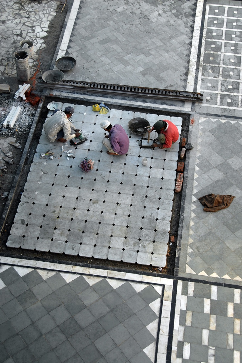 paving New Paving, Amritsar, India, 2006