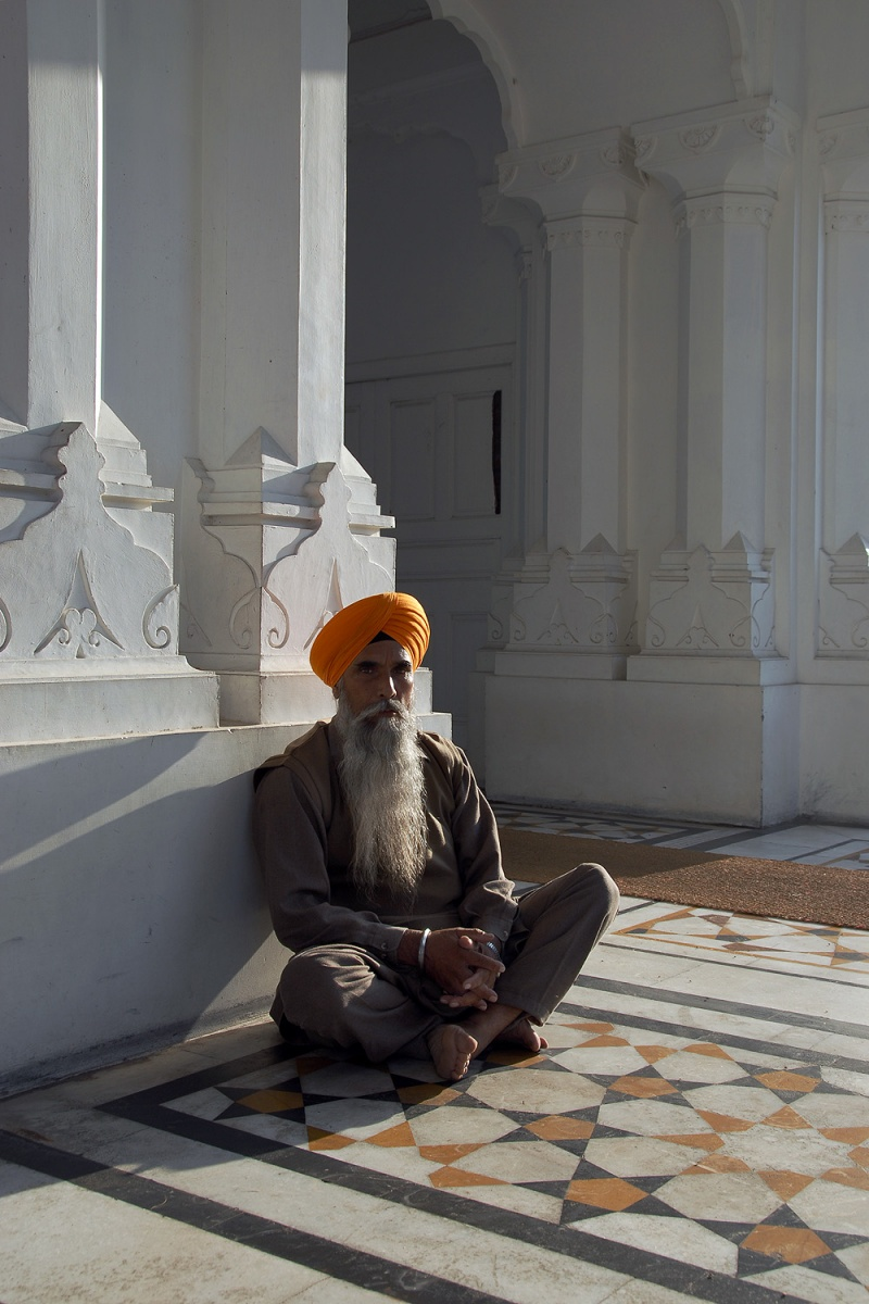 sunsitter Relaxation, Amritsar, India, 2006