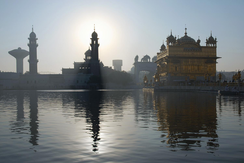 templesunrise Harimandir at Sunrise, Amritsar, India, 2006