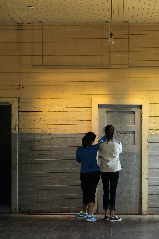 angelcloe Immigration Station Dormatory,  Angel Island,  San Francisco,California, 2012