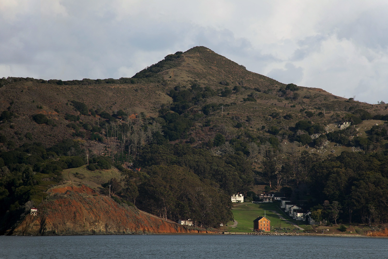 angelpeak Camp Reynolds,  Angel Island,  San Francisco, California, 2012