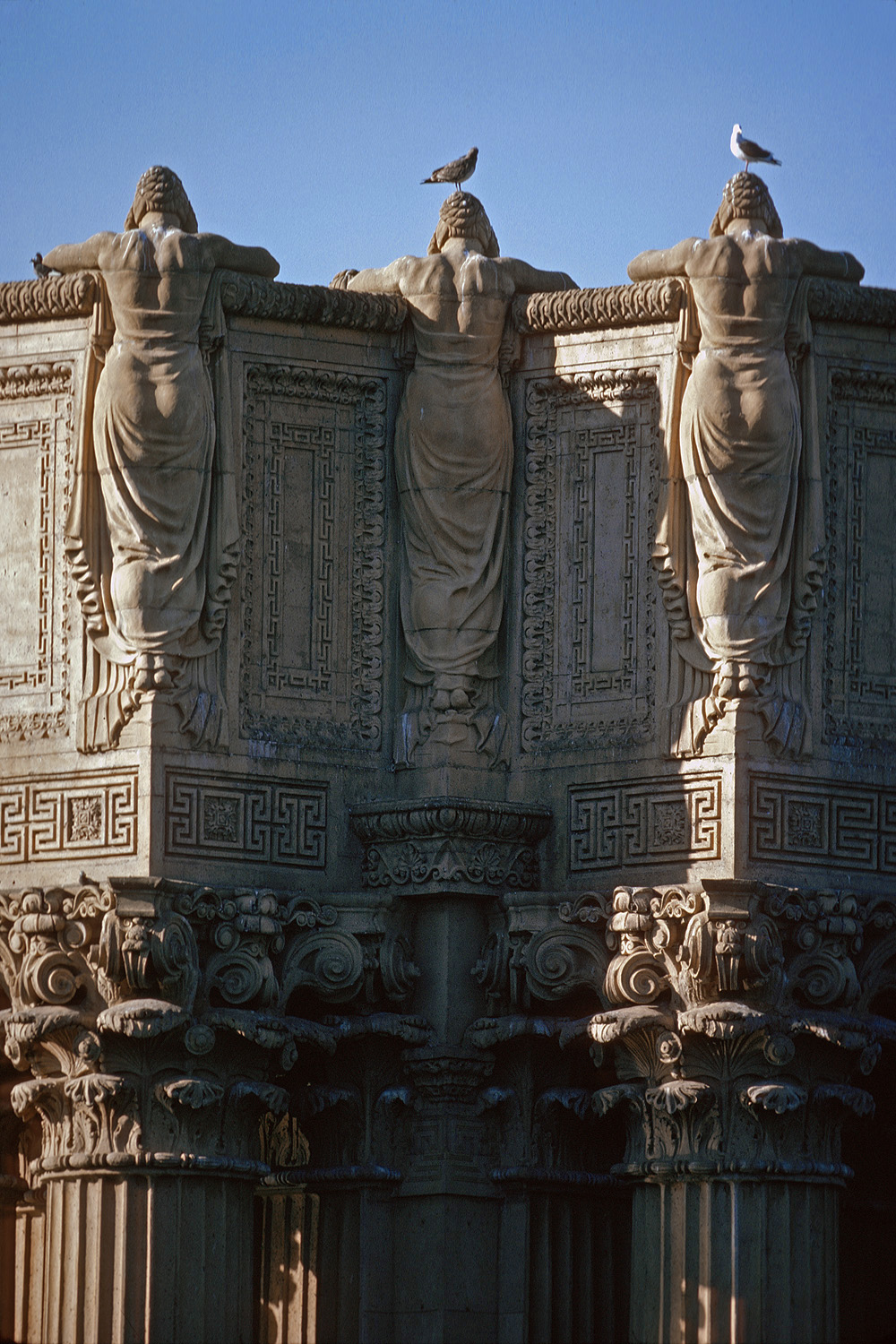 finearts Palace of Fine Arts, San Francisco, California, 1975
