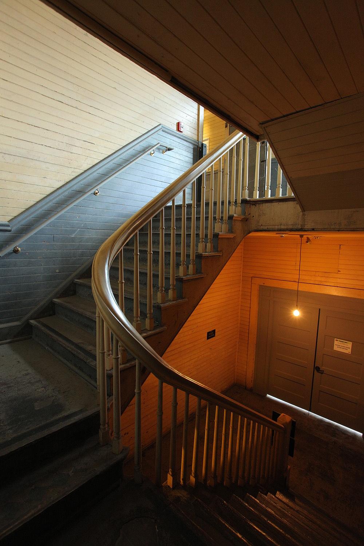 immigrationstair Dormatory Stariway,  Angel Island,  San Francisco,California, 2012