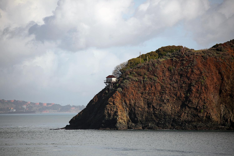 pointhouse Stewart Point Light,  Angel Island,  San Francisco,California, 2012