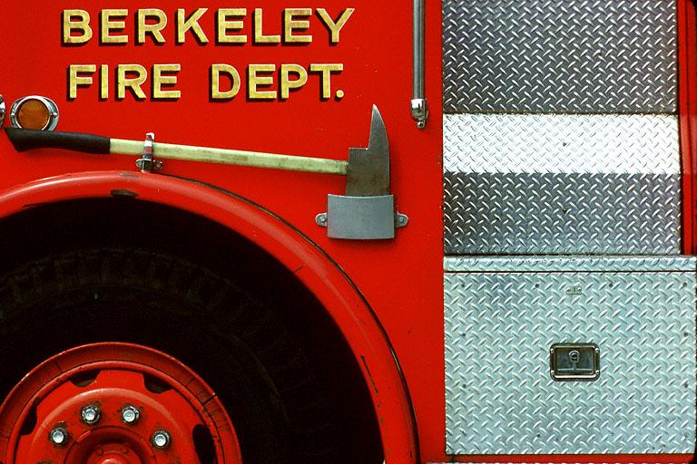 firedept Fire Truck, Berkeley, California, 1981