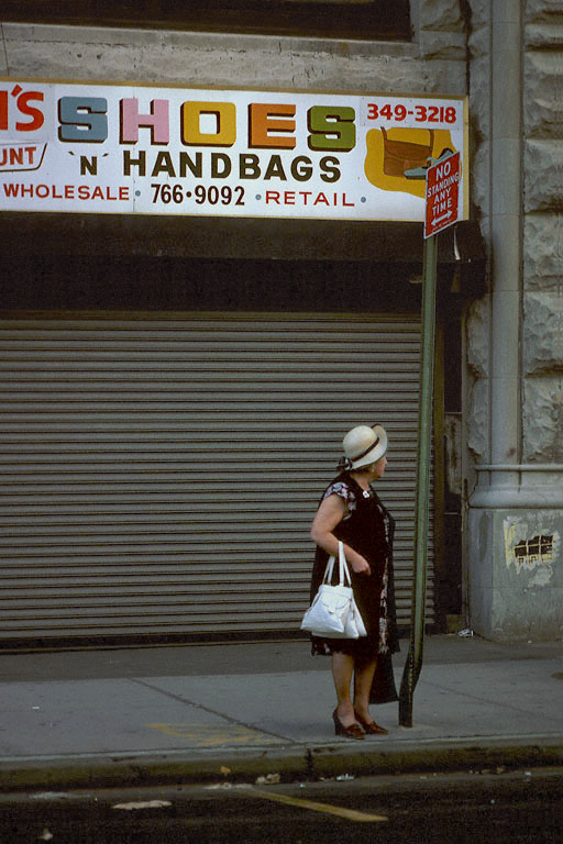 handbag  New York, New York, 1980