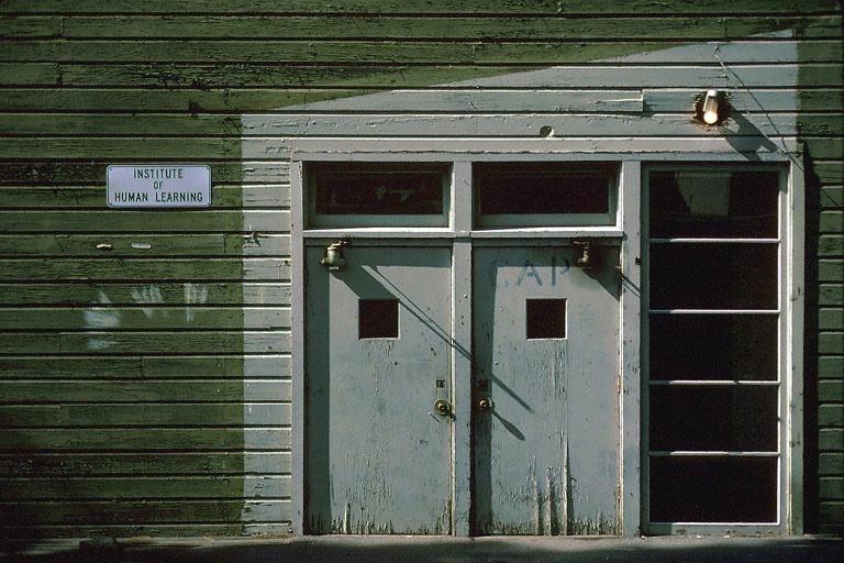 institute  Berkeley, California, 1978