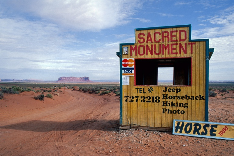 sacred  Goulding, Utah, 2003
