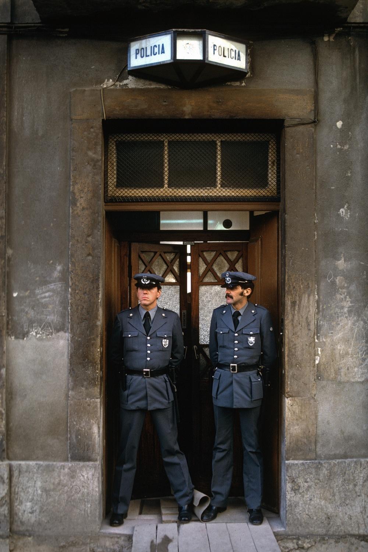 policia Policia,  Badajoz, Spain, 1983