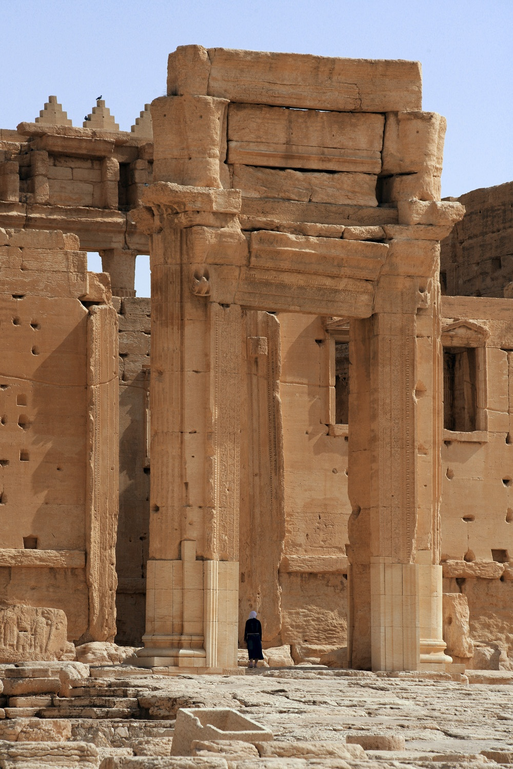 belentry Temple of Bel,  (destroyed 2015),  Palmyra, Syria, 2008