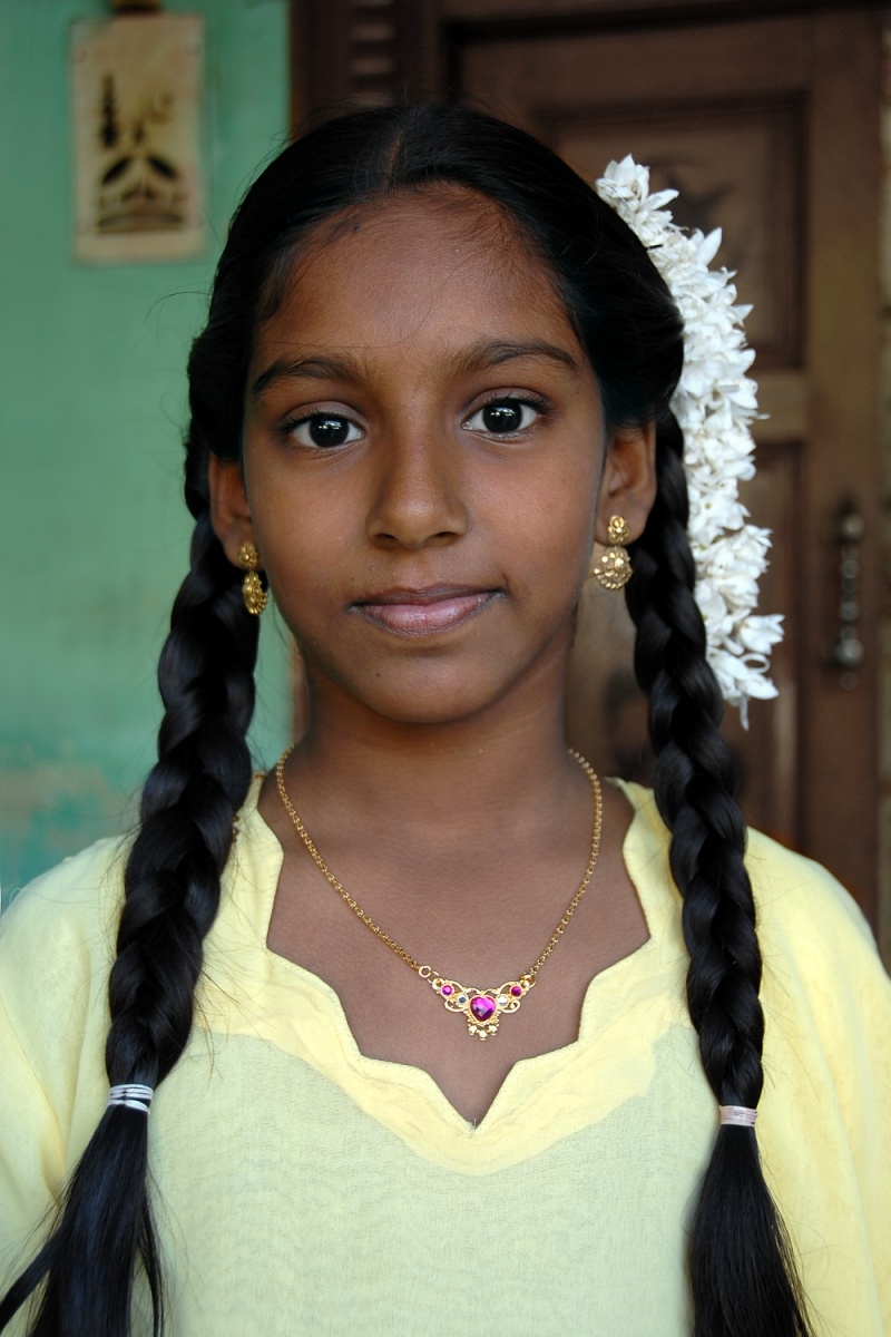 braids Young Woman, 