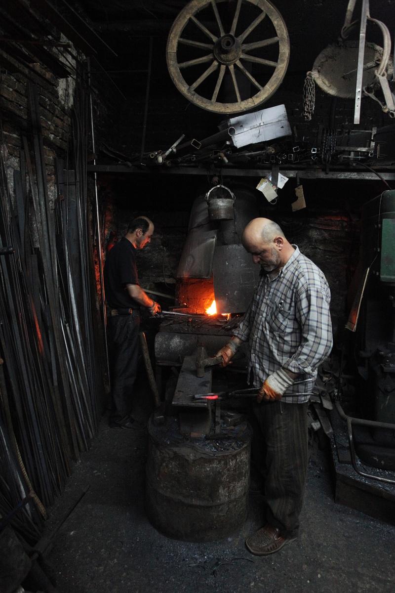 blacksmiths Blacksmiths,  Safranbolu, Turkey, 2010