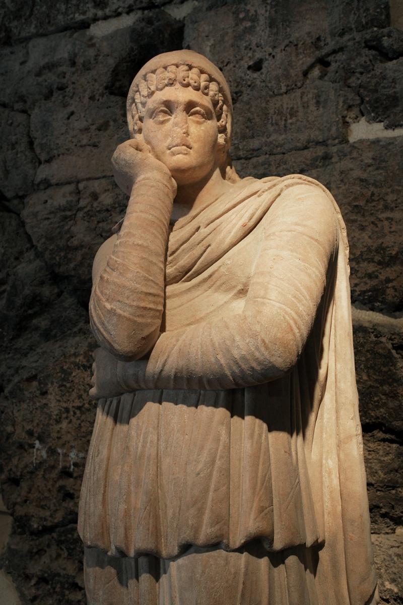 boredstatue Musuem Statue,  Hierapolis, Turkey, 2010