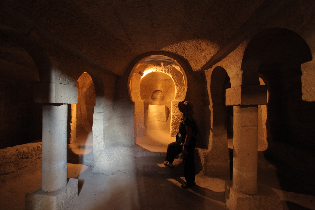 bucklecrypt Buckle Church Crypt,  Göreme, Turkey, 2010