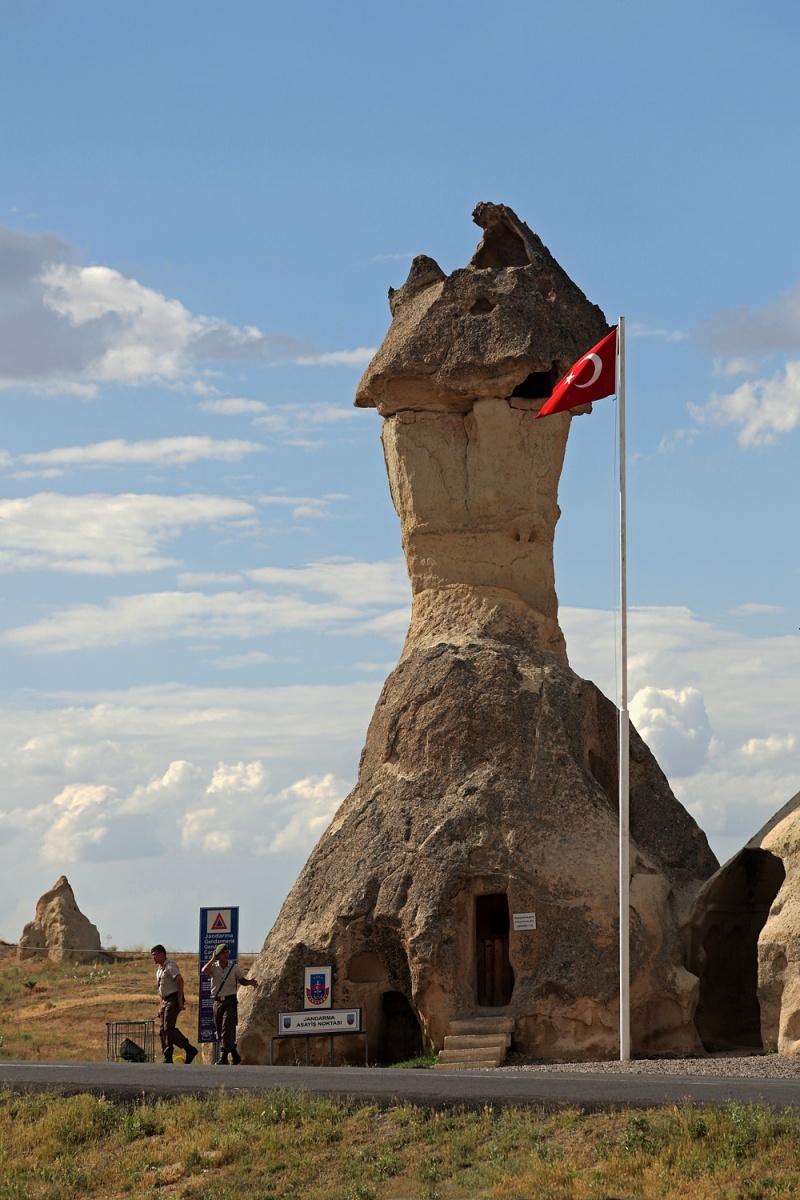 guardhouse Guardhouse,  Zelve, Turkey, 2010