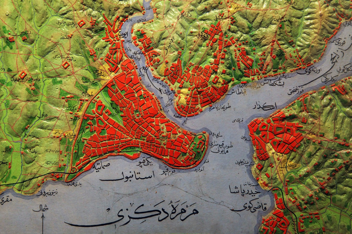 istanbulmap Istanbul, 16th Century, 