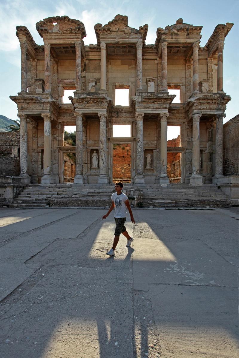 librarywalker Library,  Ephesus, Turkey, 2010