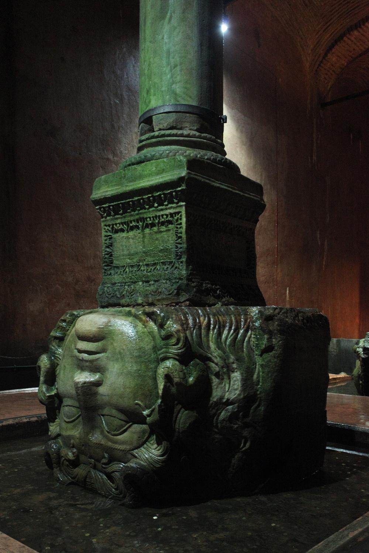 medusaB Medusa,  Roman Cistern,  Istanbul, 2010