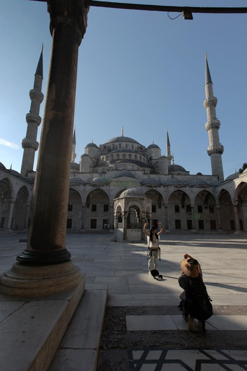newcourtyard Yeni Camii,  (New Mosque),  Istanbul, Turkey, 2010