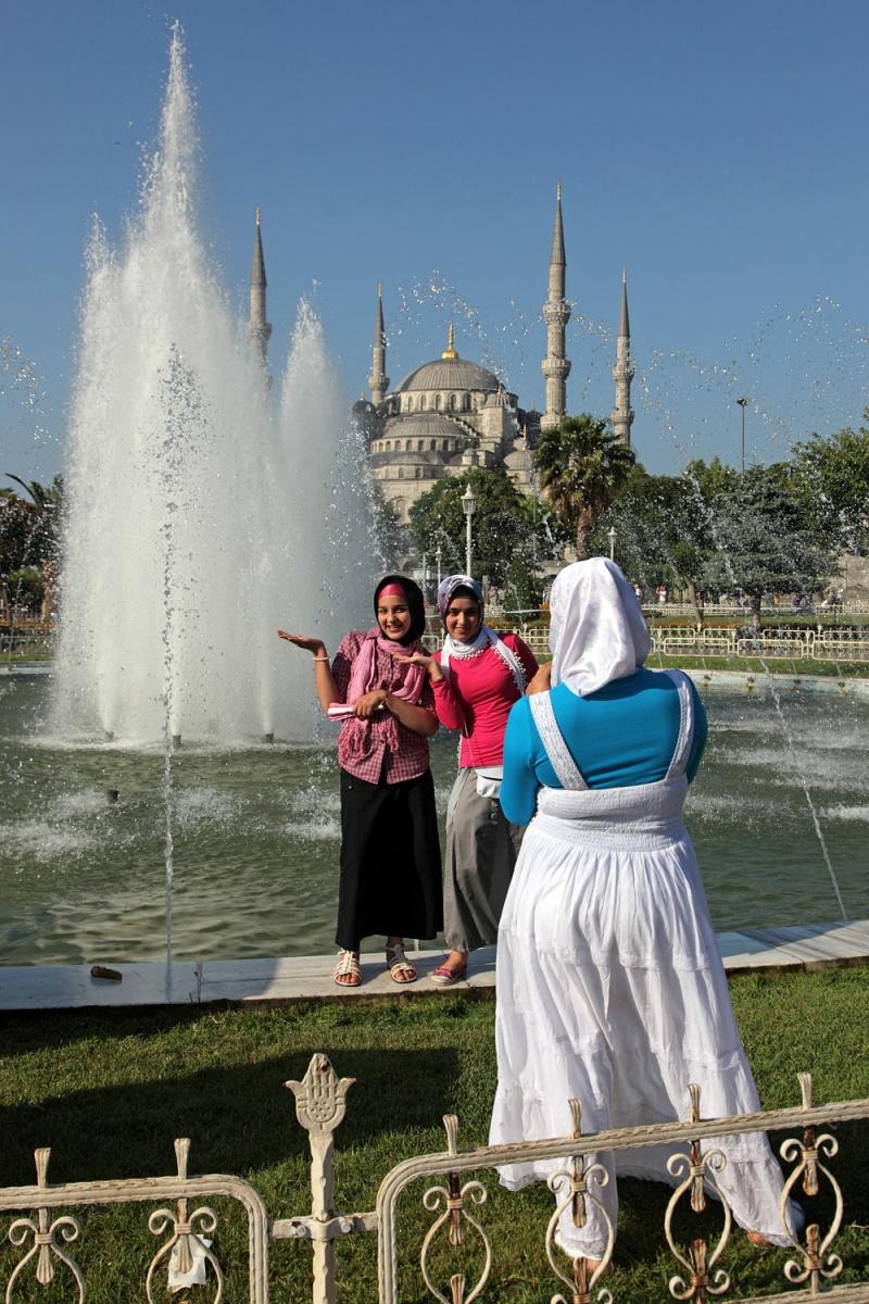 posers Posers ,  Sultan Ahmet Park,  Istanbul, Turkey, 2010