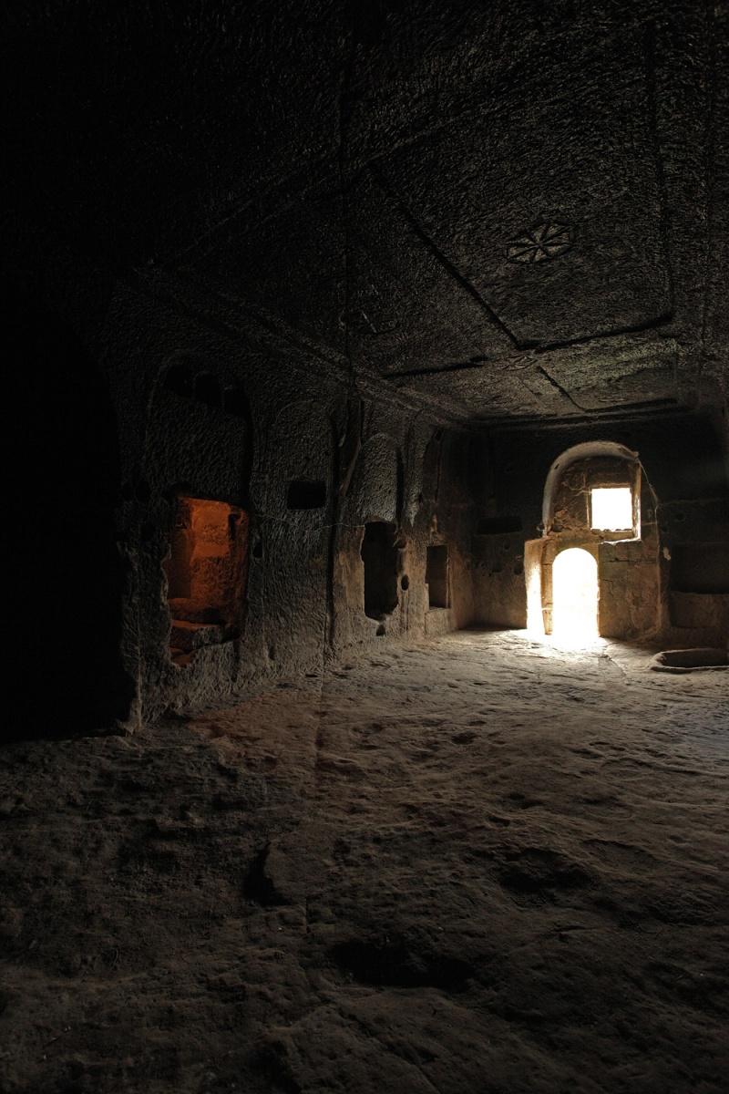 roomfissure Fissure,  Underground City,  Güzelyurt, Turkey, 2010