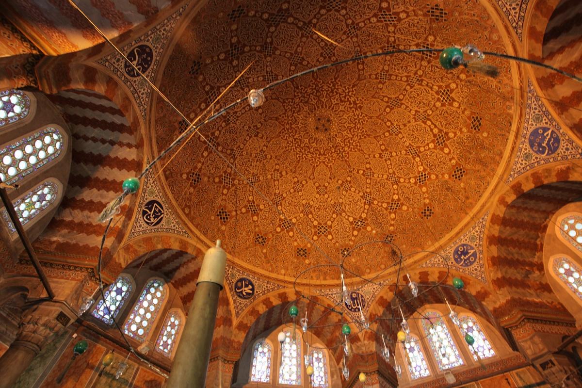 roxelanadome Süleyman Mausoleum ,  Süleyman Mosque,  Istanbul, Turkey, 2010