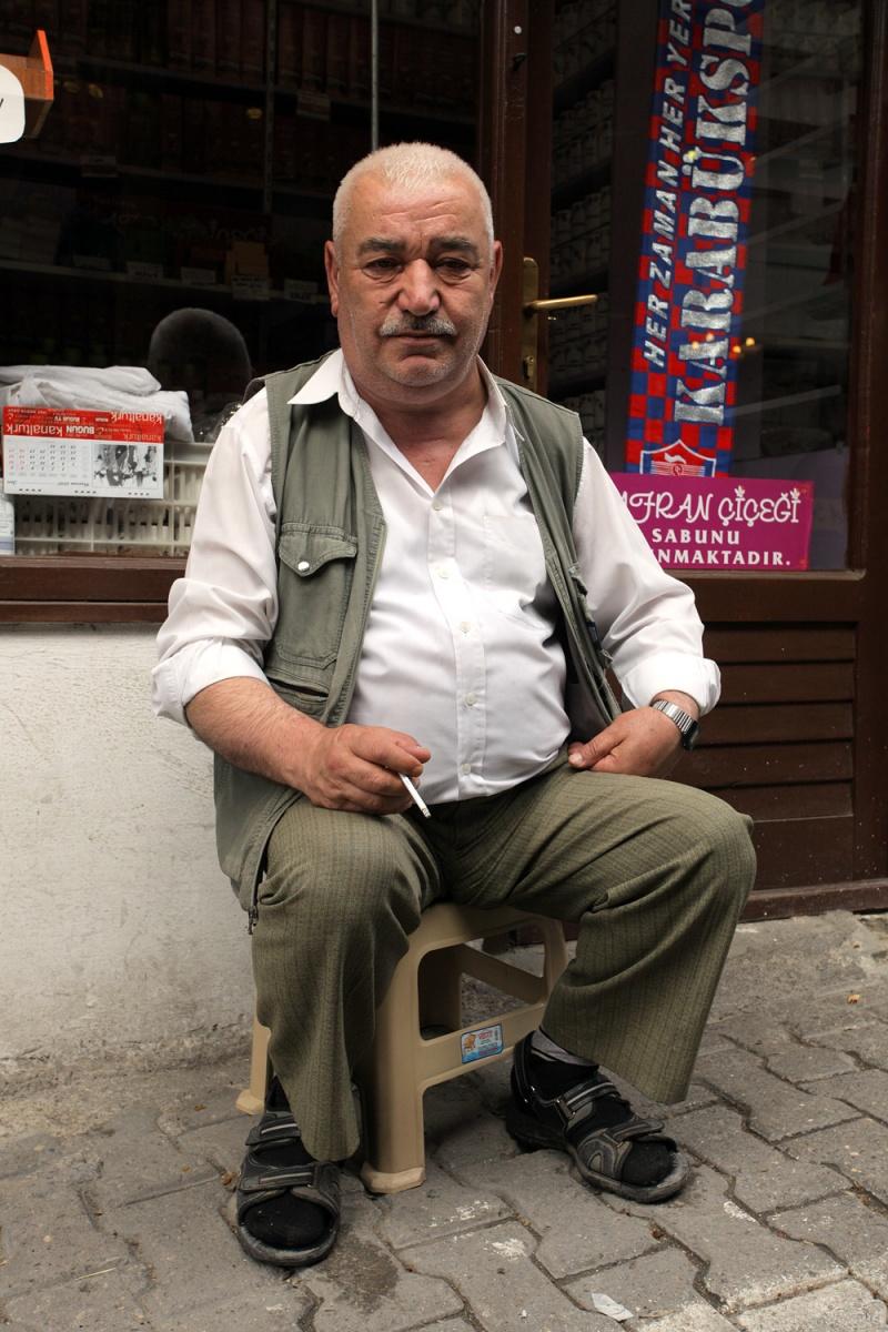 shopowner Safranbolu, Turkey, 2010