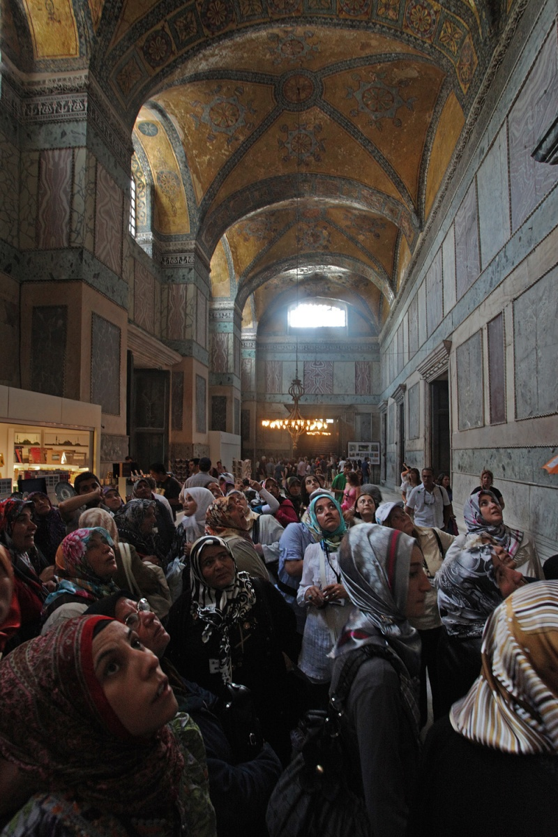 vestibule Vestibule,  Hagia Sophia,  Istanbul, Turkey, 2010