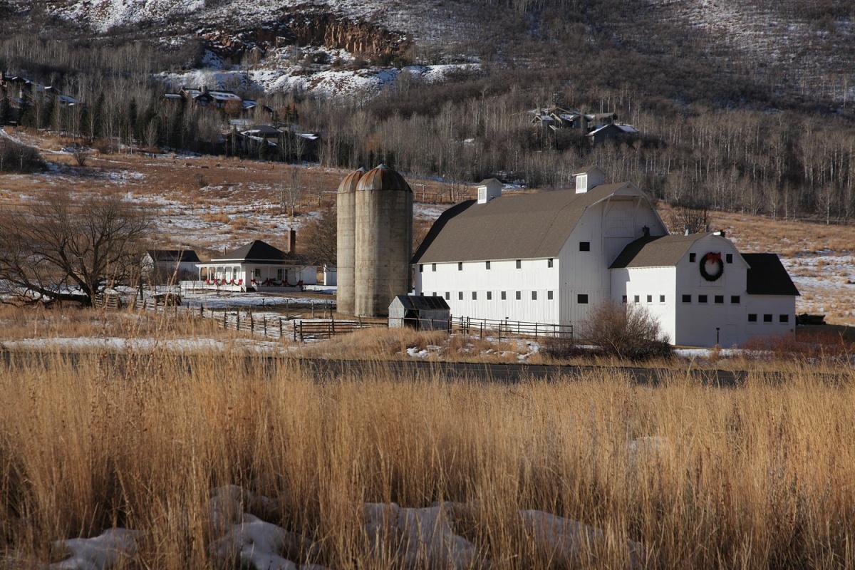 bigbarn Preserved Farmstead,  Park City, Utah, 2011