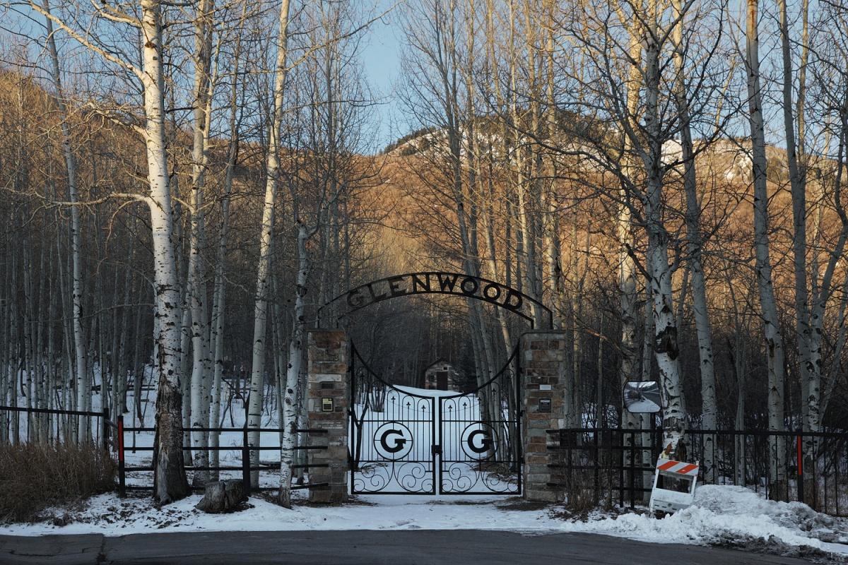 glenwood Cemetery Entry,  Park city, Utah, 2011