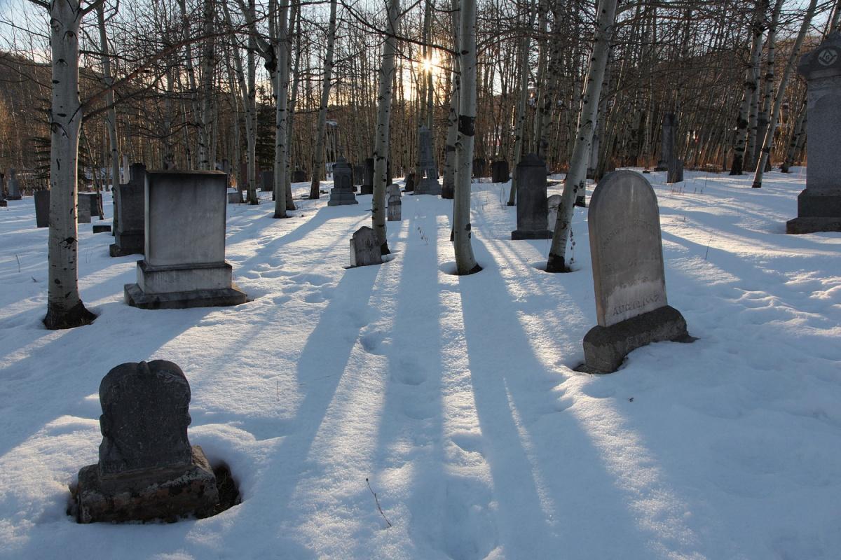 snowcemetery Cemetery,  Park City, Utah, 2011