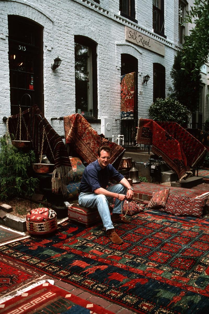 rugs Capitol Hill, Washington DC, 2001